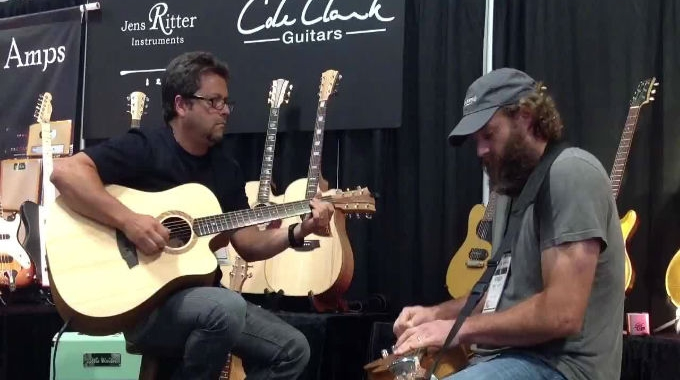 Cole Clark at Summer NAMM