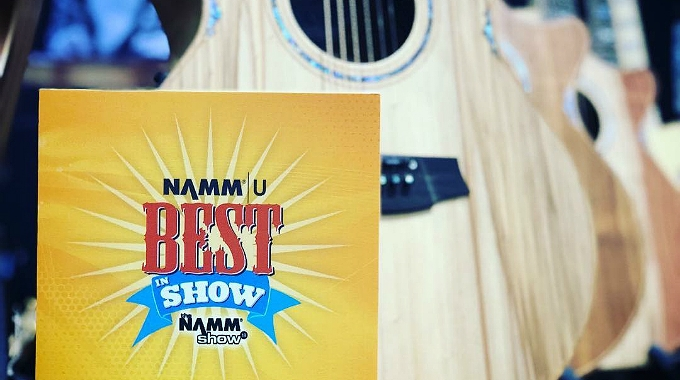 Cole Clark – Best In Show at NAMM 2018